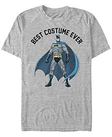 DC Men's Batman Best Costume Ever Short Sleeve T-Shirt