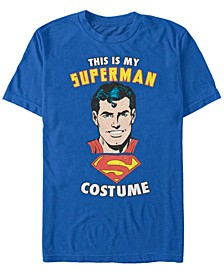 Superman Costume Men's Short Sleeve T-shirt