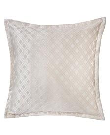 Emma Jacquard Throw Pillow, Checkered