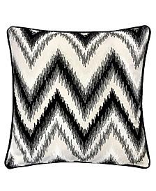 Series Zig Zag Liner Velvet Large Sofa Couch Pillow