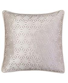 Allison Modern Velvet Square Decorative Throw Pillow
