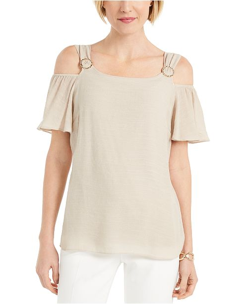 JM Collection Off-The-Shoulder Top, Created For Macy's