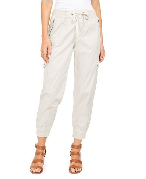 Style & Co Zip-Pocket Joggers, Created for Macy's