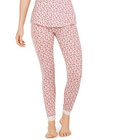 Montague Floral-Print Pajama Leggings