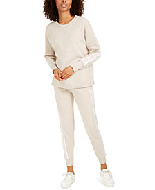 Calvin Klein Performance Logo Fleece Sweatshirt