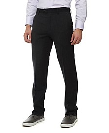 Men's Flat Front Dress Pants
