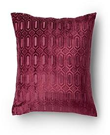 Sanibel Cut Velvet Decorative Throw Pillow