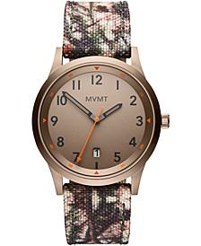 Men's Field Camouflage Nylon Strap Watch 41mm