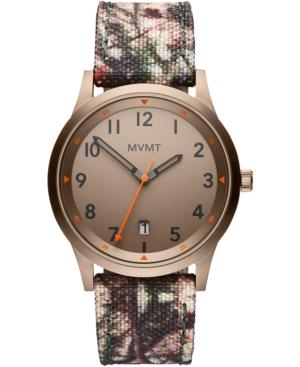 Mvmt 's Men's Field Camouflage Nylon Strap Watch 41mm