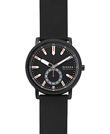 Men's Colden Black Leather Strap Watch 40mm