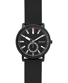 Men's Colden Black Leather Strap Watch 40mm