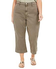 Plus Size Montauk Cropped Pants