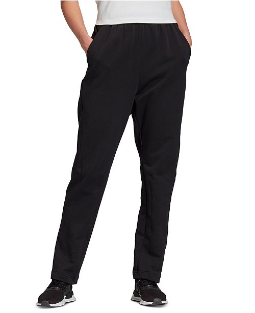 adidas Women's Cotton French Terry Pants