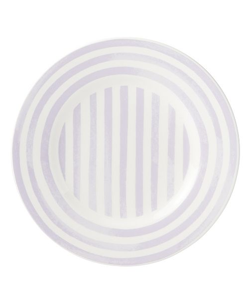 kate spade new york Charlotte Street Lilac North Accent Plate