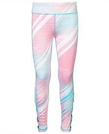 Little Girls Printed Caged Leggings, Created for Macy's