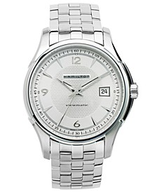 Men's Swiss Automatic Jazzmaster Viewmatic Stainless Steel Bracelet Watch 40mm H32515155
