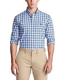 폴로 랄프로렌 Polo Ralph Lauren Mens Slim-Fit Checked Shirt