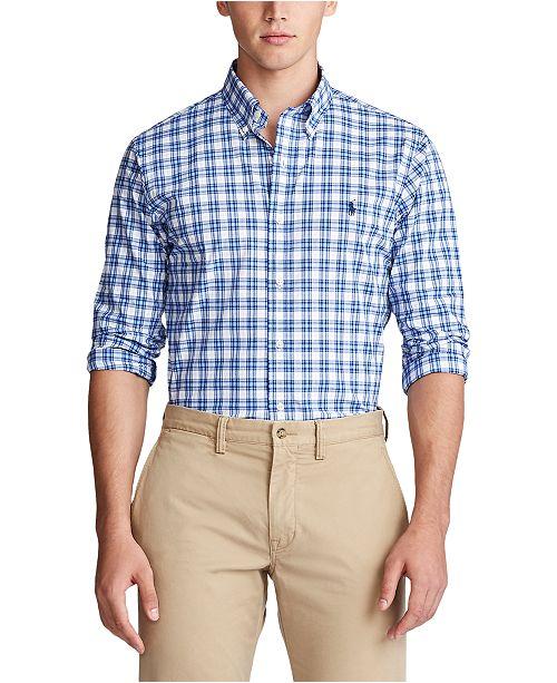 Polo Ralph Lauren Men's Classic-Fit Plaid Shirt