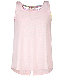 Big Girls Split-Back Tank Top, Created For Macy's