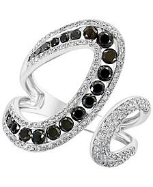 EFFY® Diamond Openwork Cuff Statement Ring (1-1/6 ct. t.w.) in 14k White Gold