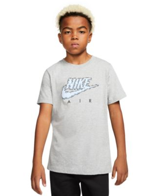 Big Boys Cloud-Print Cotton T-Shirt