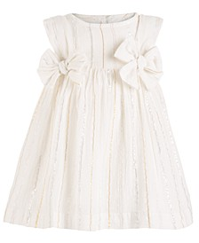 Baby Girls Bow Dress, Created For Macy's