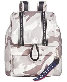 Alisa Camo Nylon Backpack