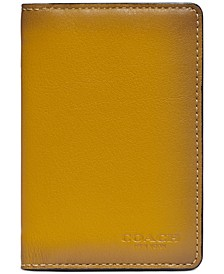Men's Colorblocked Card Wallet