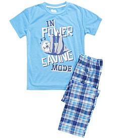 Big Boys Power Saving Mode Pajama Set