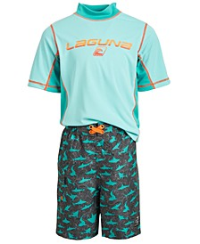Toddler Boys 2-Pc.  Swim Set