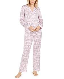 Floral-Print Pajama Top & Pajama Pants