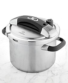 Stainless Steel 6 Qt. Pressure Cooker