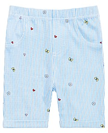 Baby Girls Gingham Bermuda Shorts, Created for Macy's