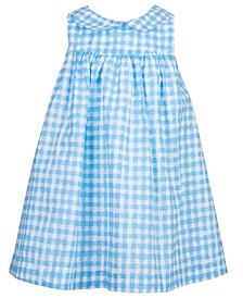 Baby Girls Gingham Cotton Sundress, Created for Macy's