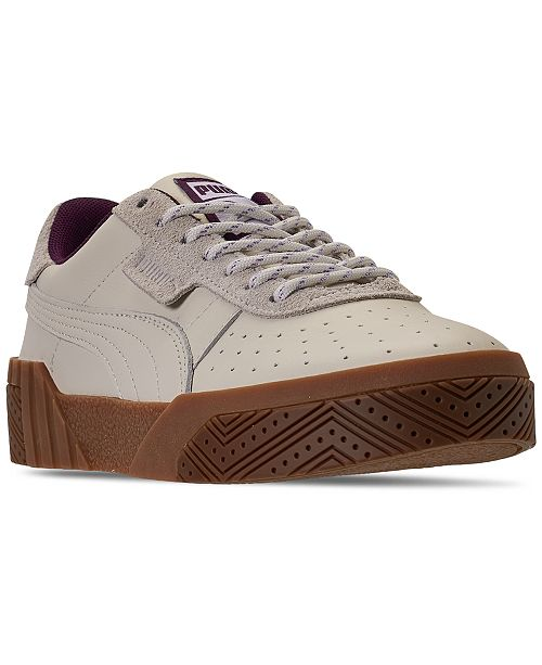 Puma Women's Cali Outdoor Hustle Casual Sneakers from Finish Line