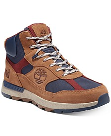 Men's Field Trekker Fabric and Leather Mid Hikers