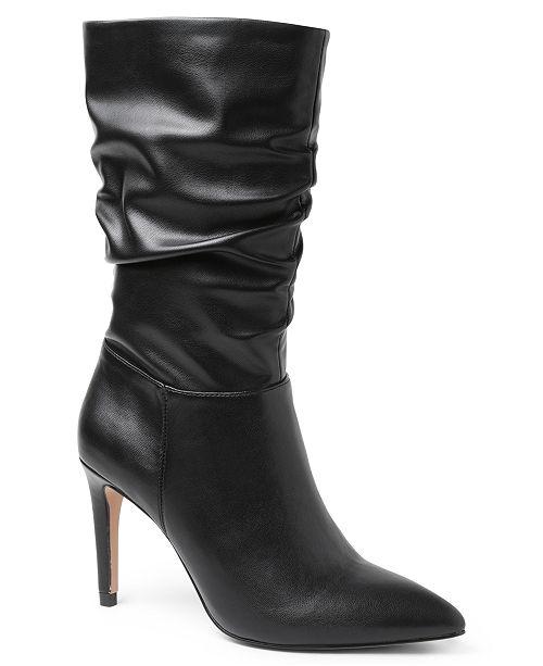 XOXO Trinidad Slouchy Dress Boots