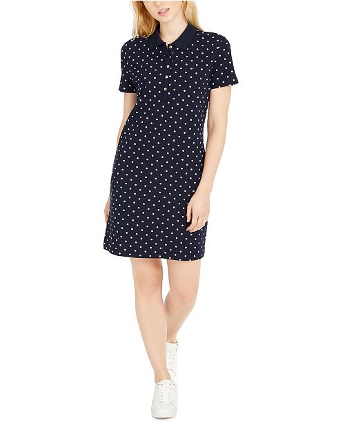 Tommy Hilfiger Printed Polo Dress