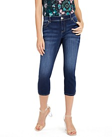 INC Petite Curvy-Fit Cropped Skinny Jeans, Created for Macy's