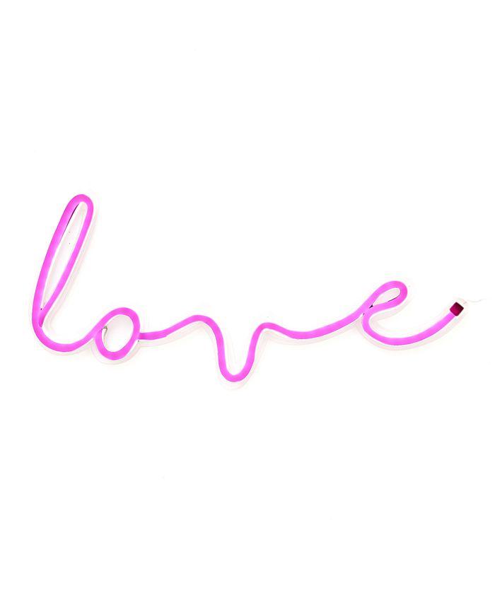 COCUS POCUS - Cursive 'love' LED Neon Sign