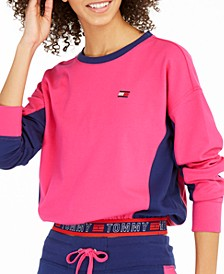 Colorblocked Cropped Top