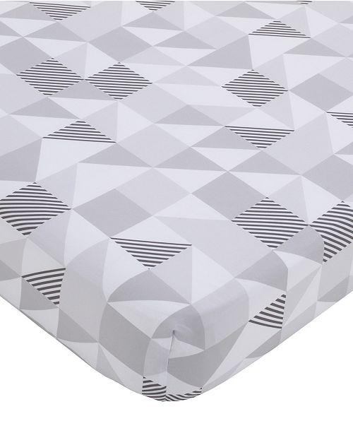 NoJo NoJo Modern Geometric Print Fitted Crib Sheet