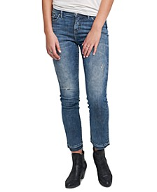 Aikins Straight-Leg Ankle Jeans