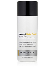 Advanced Body Powder Fragrance Free and Talc Free For Men 3.4 OZ
