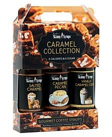 Carmel Collection Trio - Carmel Pecan, Salted Carmel, Vanilla Carmel