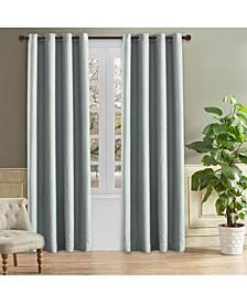 "Odyssey Room Darkening Curtain, 95"" L x 52"" W"