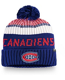 Montreal Canadiens Authentic Pro Rinkside Goalie Pom Knit Hat