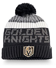 Vegas Golden Knights Authentic Pro Rinkside Goalie Pom Knit Hat
