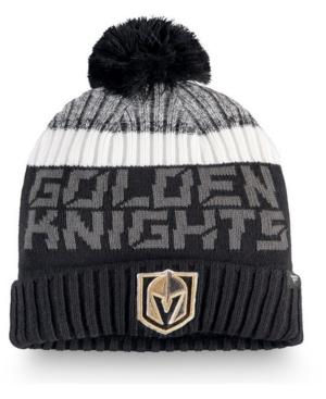 Vegas Golden Knights Authentic Pro Rinkside Goalie Pom Knit Hat