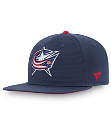 Columbus Blue Jackets Authentic Pro Rinkside Snapback Cap